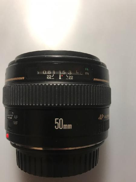 Canon ef 50mm f1.4