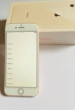 Iphone 8 oro 256 gb