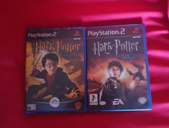 Pack 2 juegos harry potter