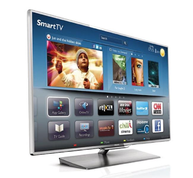 Pantalla led 40/smart tv/4k/3d/wifi.