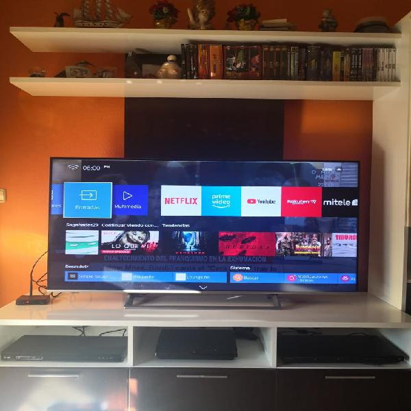 Tv hisense 55 4k uhd hdrx3 smart tv