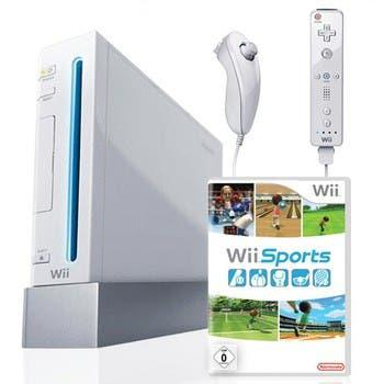 Wii con accesorios wii fit