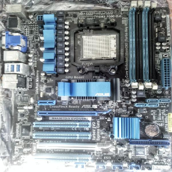 Placa base asus + micro amd athlon ii x3 3.20 ghz