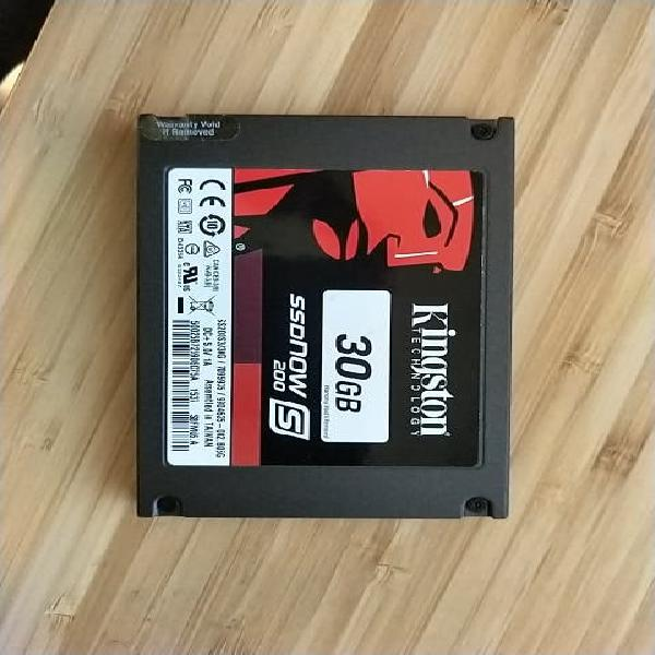 Ssd nos 200s - 30gb kingston technology