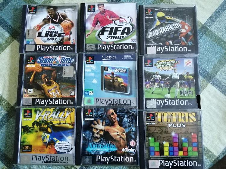 Lote pack juegos ps1 psx pal españa psone