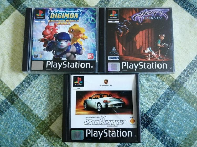 lote Pack juegos Ps1 Psx Pal UK PsOne
