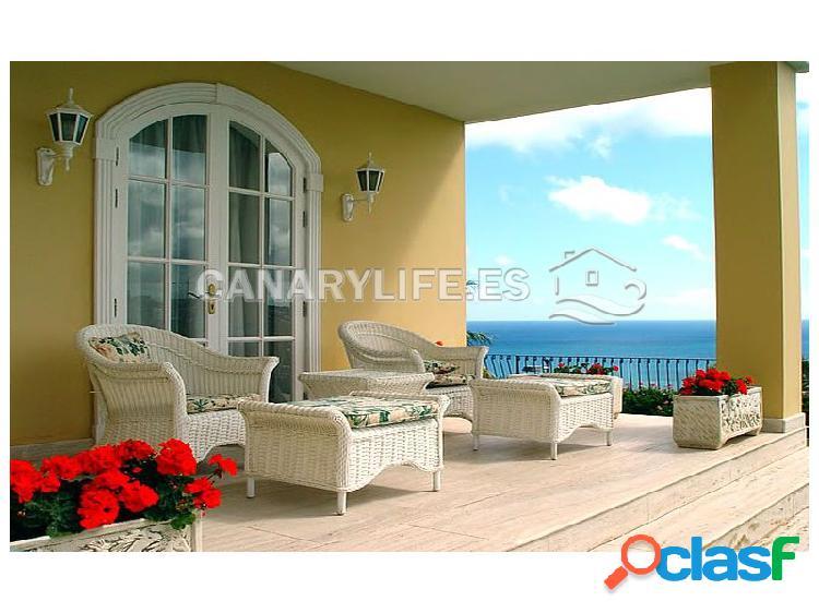 Magnífica villa con vistas al atlántico