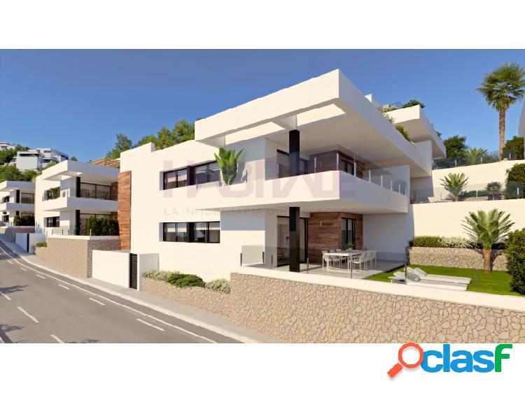 Apartamentos modernos de nueva construcción en benitachell