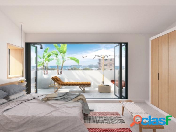 Excepcional apartamento duplex con garaje y terraza s. catalina