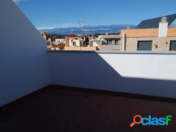 Ático de 37 m2 con 1 habitaciones y terraza