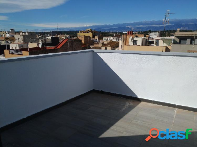 Ático de 45 m2 con 1 habitaciones y terraza
