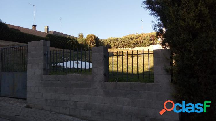 PARCELA EN LOS HUEROS (VILLALBILLA)