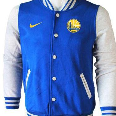 Bomber nba golden state warriors blue