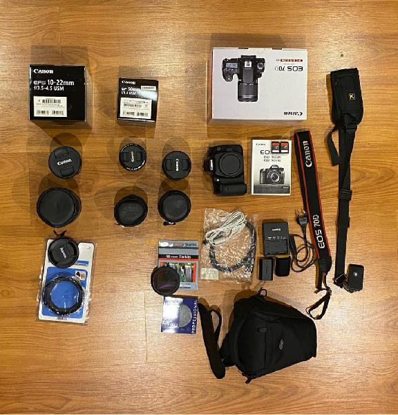 Pack canon 70d