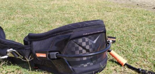 Rrd kite harness shiel (carbono)