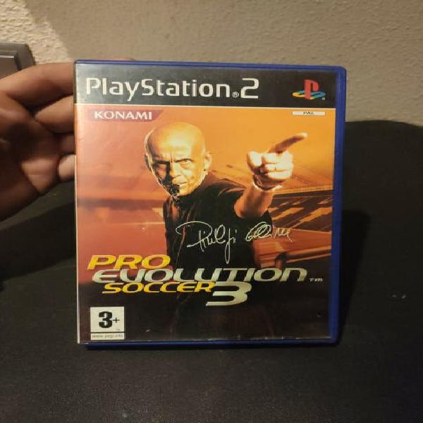 VIDEOJUEGO PLAY STATION 2 PS2 PRO EVOLUTION SOCCER