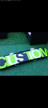 Tabla de snow burton custom