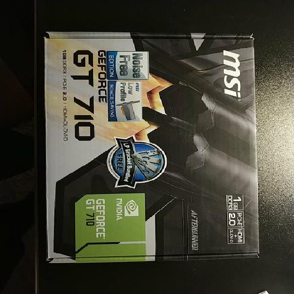 Nvidia geforce gt 710 msi 1gb ddr3
