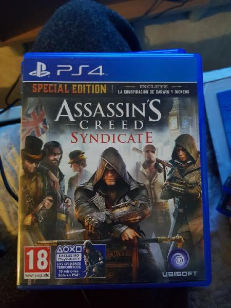 Assassins creed syndicate ps4 play station 4 nuevo