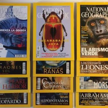 National geographic - revista - año 2001