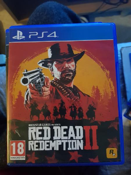Red dead redemption ii 2 ps4 play station 4