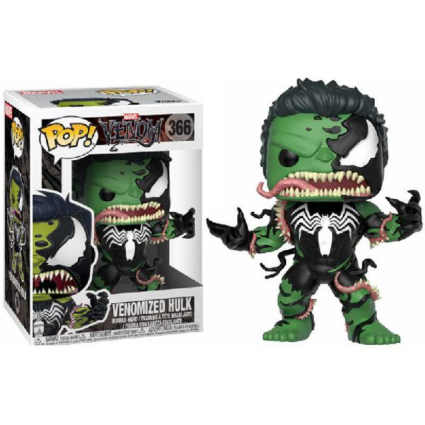Figura funko pop! marvel venomized hulk nº366
