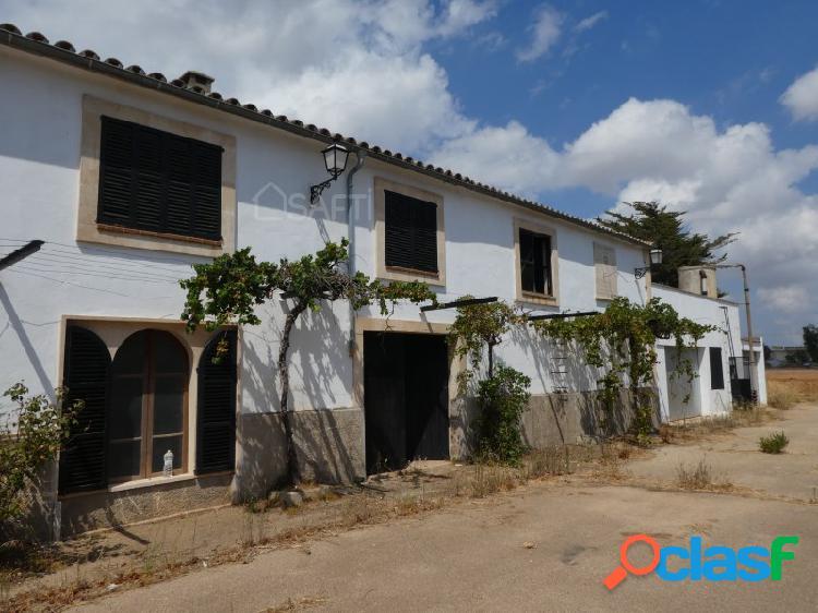 Casa y gran finca en entorno natural en binissalem