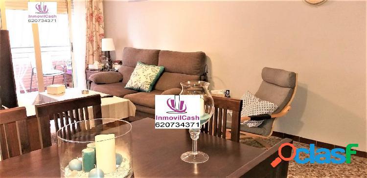 Inmovilcash vende excelente vivienda florida portazgo ascensor, garaje y trastero 140m2- 190.000€