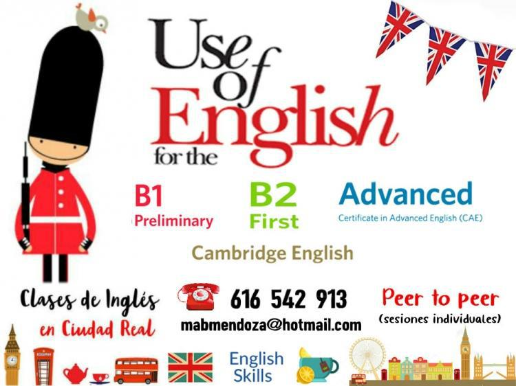 Clases individuales de rephrasing-use of english