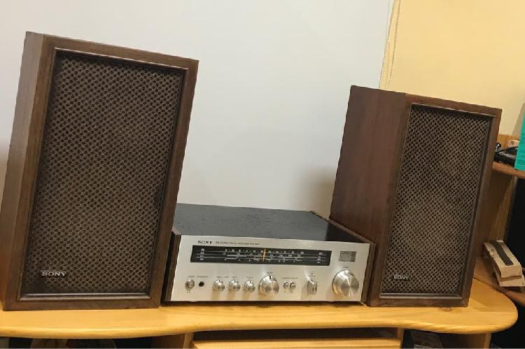 Receiver sony str-1800 y altavoces