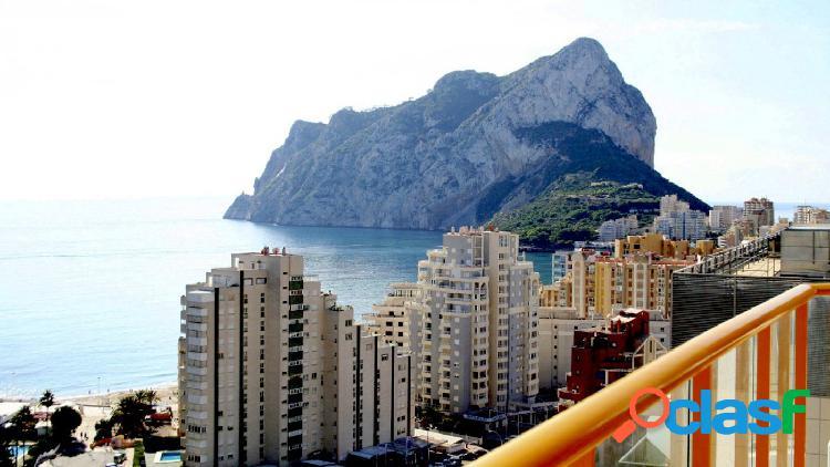 Apartamento en calpe con espectaculares vistas al mar y al peñón de ifach