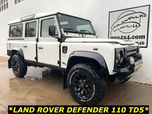 Land rover defender 110tdi county sw country '00