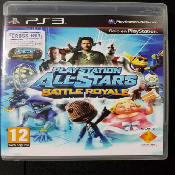 Play station all-stars battle royale ps3