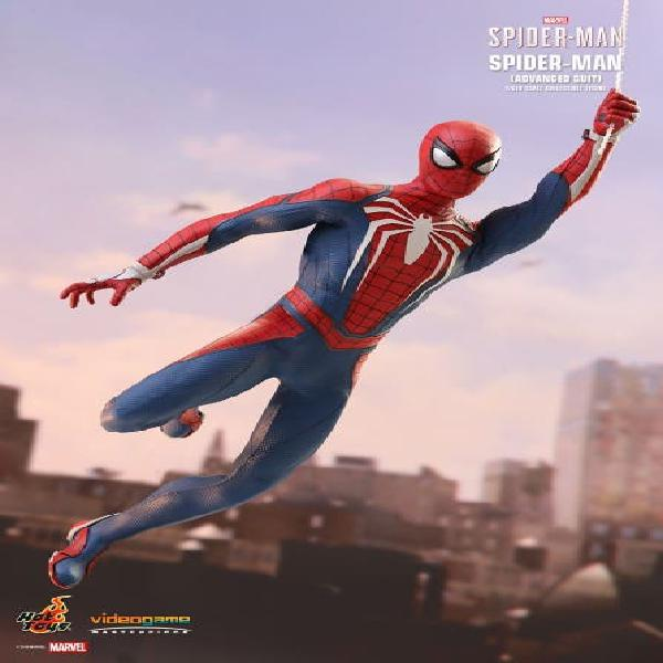 Spiderman ps4 advanced suit 1/6 hot toys