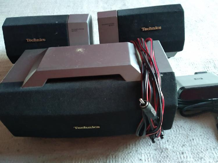 3 amplificadores dolby technics system ss-ps75