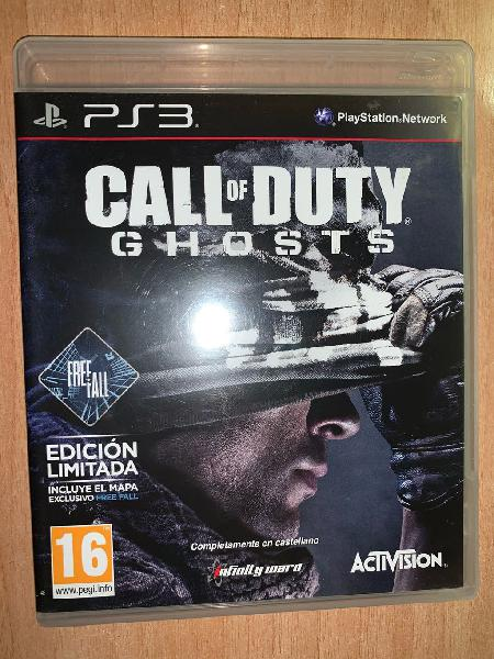 Call of duty ghosts play station 3