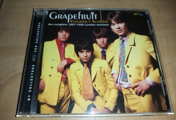 GRAPEFRUIT CD The Complete 1967-1968 London Sessions,British