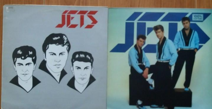 LOTE DOS LPS JETS - ROCKABILLY