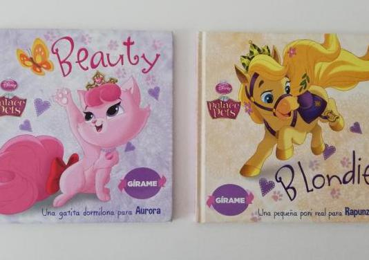 Pack 2 libros disney palace pets