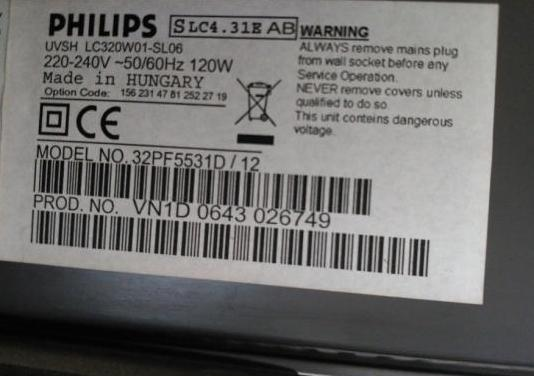 Televisor philips lcd 32 hd tdt