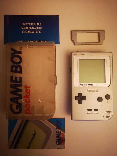 Consola game boy pocket + caja original