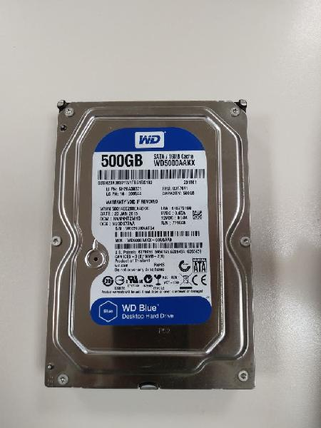 Disco duro 500gb sata 3.5""