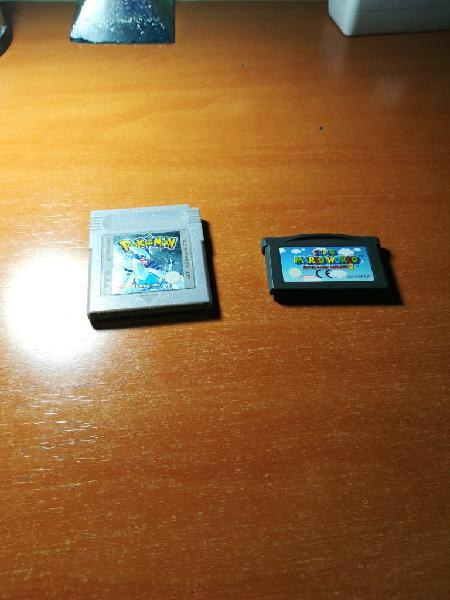 Juegos gameboy color advance