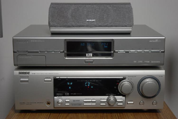Home cinema y grabador dvdr philips