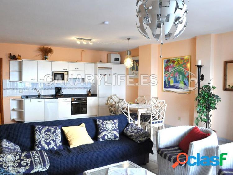 Amplio apartamento de dos dormitorios con increíbles vistas al mar en arguineguin