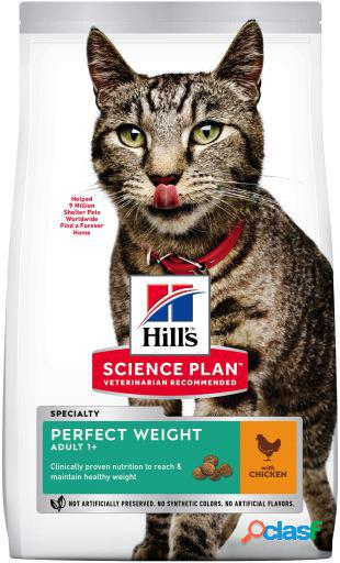 Hill's science plan adult perfect weight pollo 2.5 kg