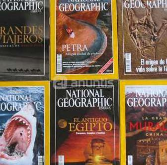 Lote 22 revistas national geographic