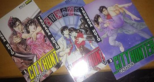 Manga: lote city hunter cazador 1,2,3