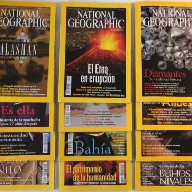 National geographic - revista - año 2002