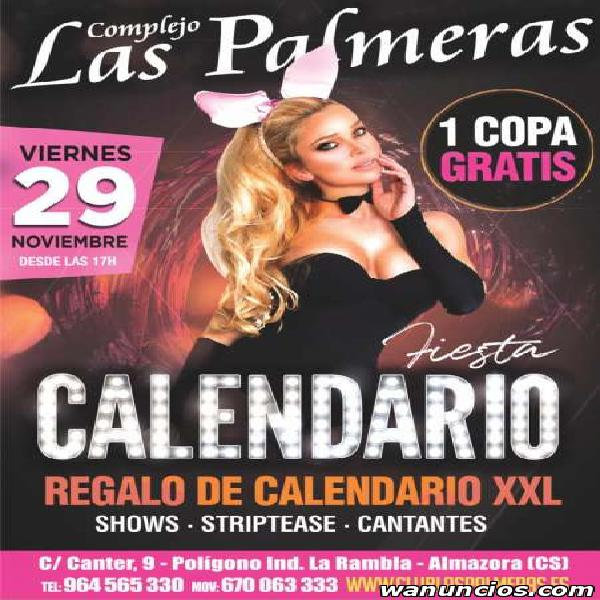 REGALO DE CALENDARIO XXL - FIESTA DEL CALENDARIO CLUB LAS